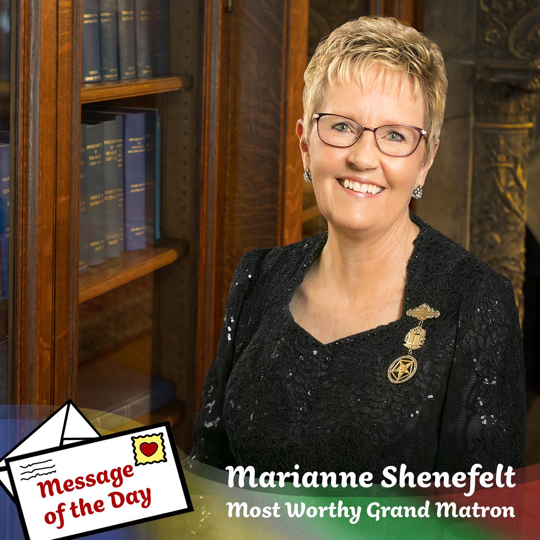 Marianne Shenefelt MWGM OES